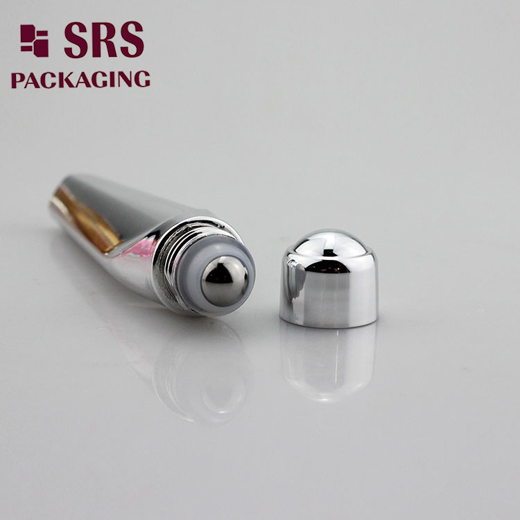 SRS8444 12ml plastic roll on bottle with steel ball