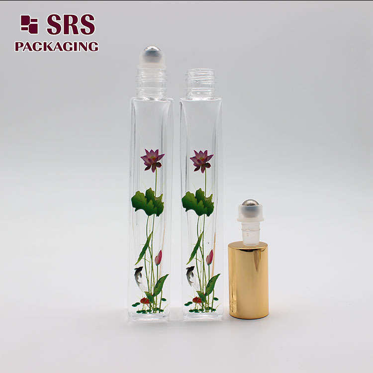 GB2-10ml SRS Empty Cosmetic Thick Wall 3D printing Glass Bottle 10ml