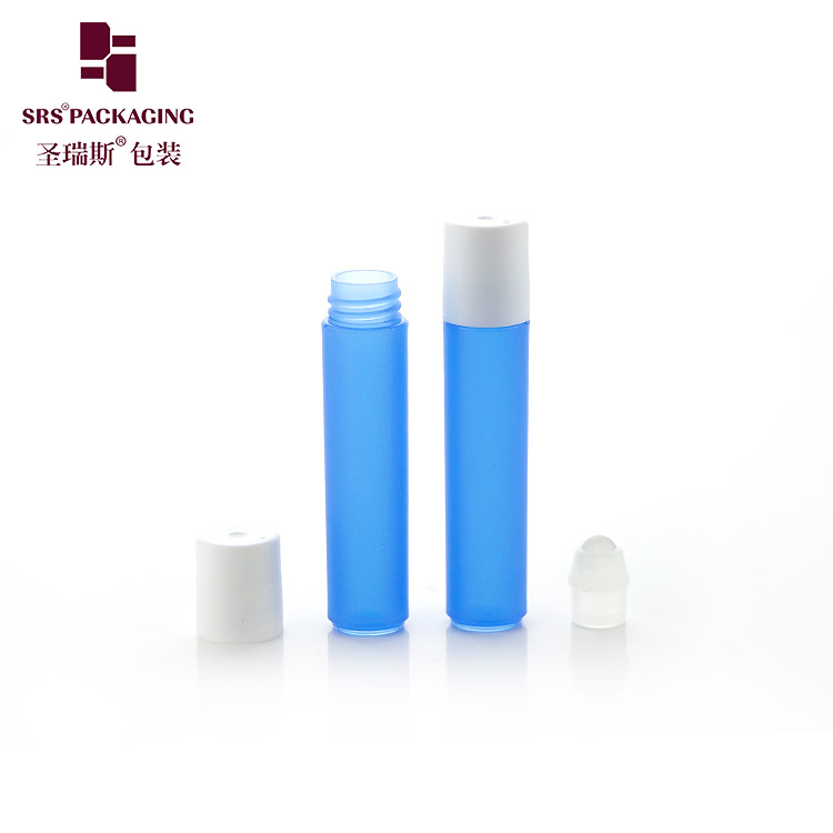 3ml small empty plastic roll on sample bottle