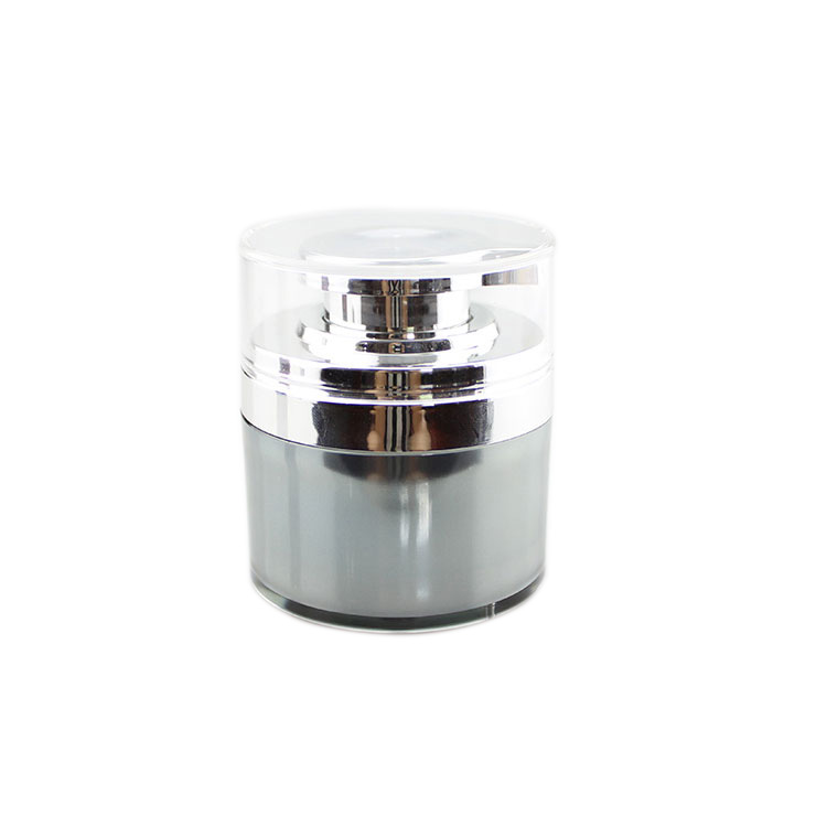 A103 30ml 50ml 70ml plastic airless acrylic cosmetic packaging cream jar