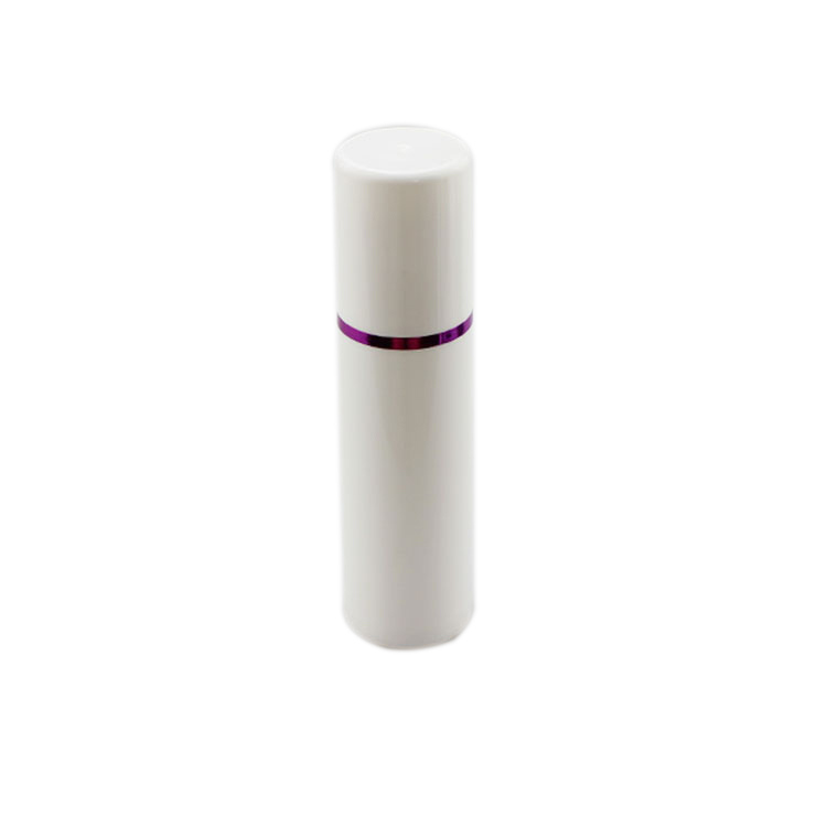 A024 PP round airless lotion bottle empty cosmetic packaging