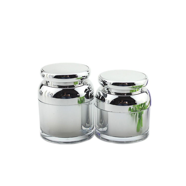 J316 Professinal round shape luxury cosmetics cream empty acrylic jar