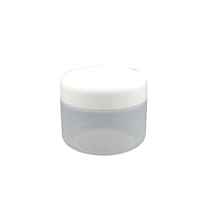 SRSA single wall 15g 20g 30g cosmetic PP empty white cream jar