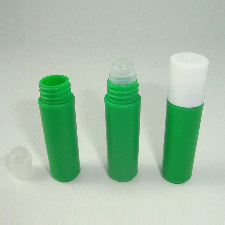 2ml small empty plastic roll on sample bottle stock available
