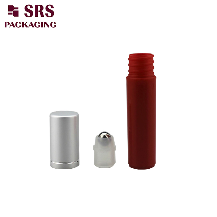 5ml pocket plastic roll on subpackage bottle 100pcs
