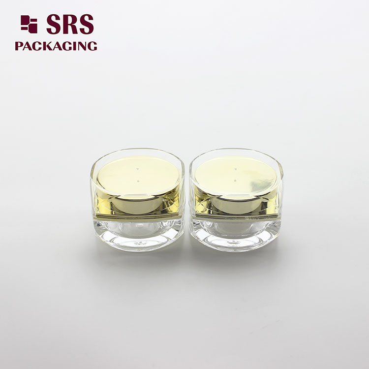 J102 5g Mini Sample Square Nail Gel Acrylic Cosmetic Jar