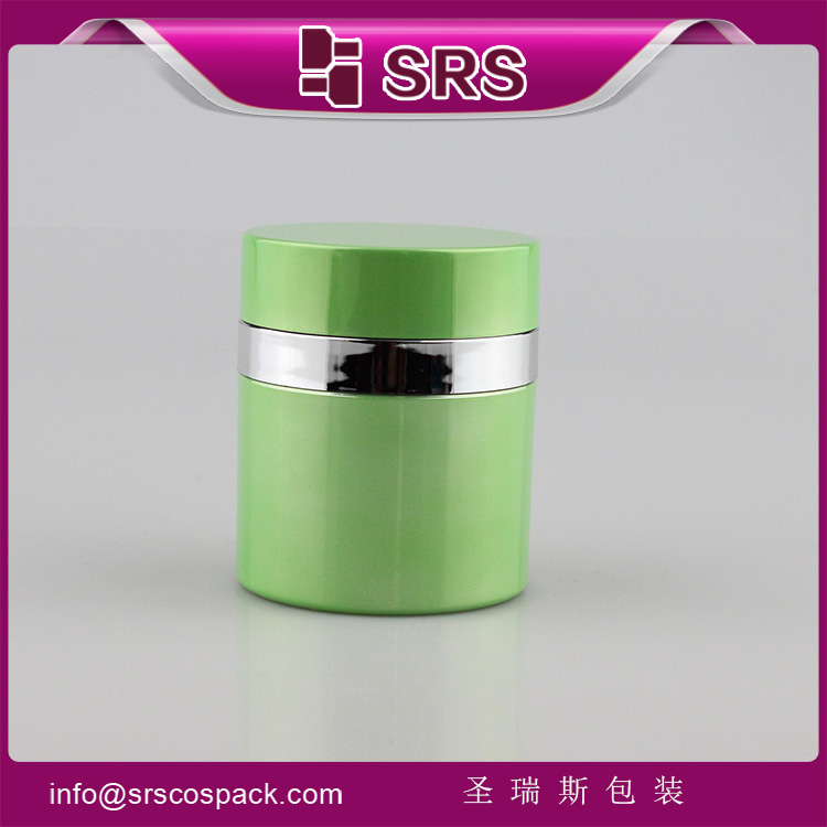 A100 double wall airless pump cream acrylic jar