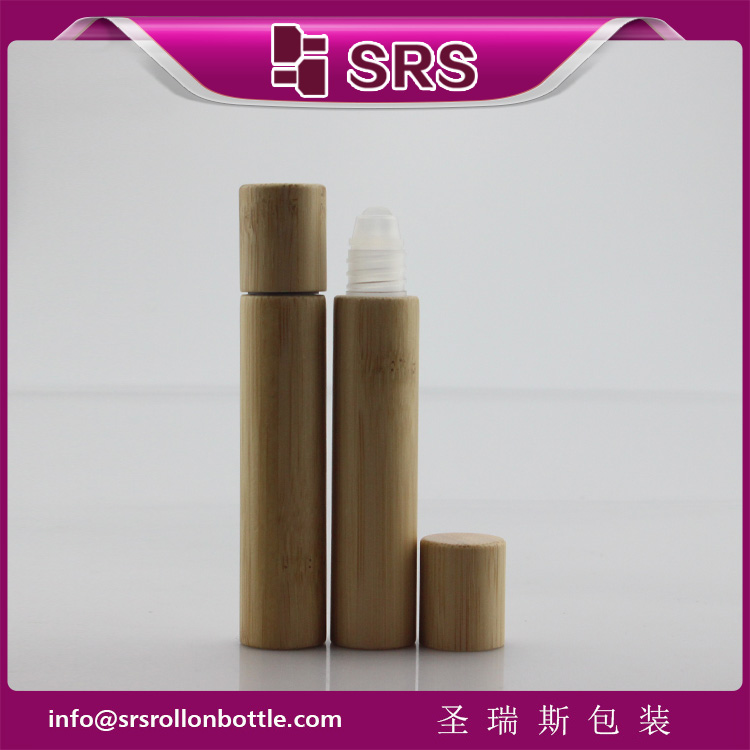 SRS Cosmetic 8ml Bamboo Roll on Bottle for Eye Cream