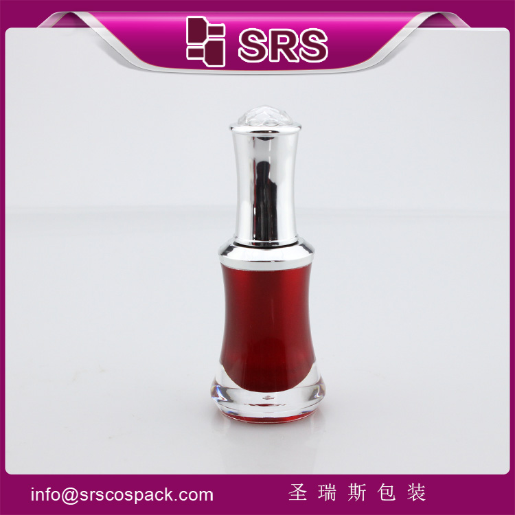 NP009B Custom Cosmetic Nail gel Empty Acrylic Bottle 8ml