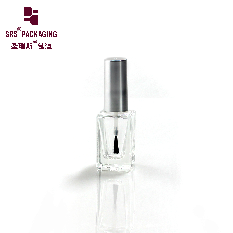 Custom Unique empty 8ml 10ml 12ml with brush and cap glass bottle nail polish