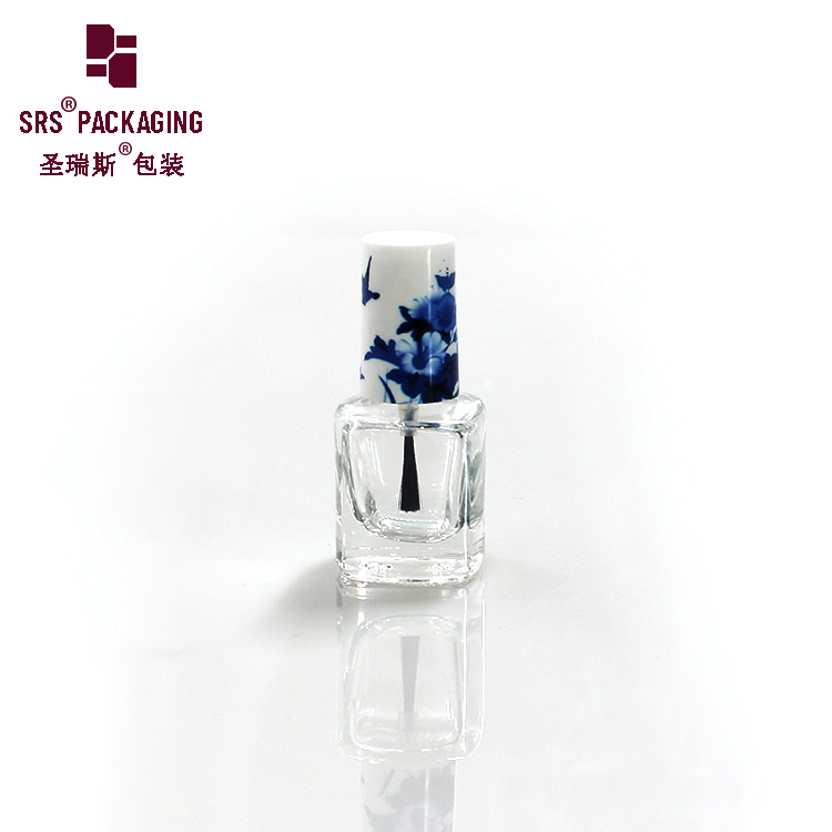 Direct Supply Professional Unique Custom Glass design nail polish bottle