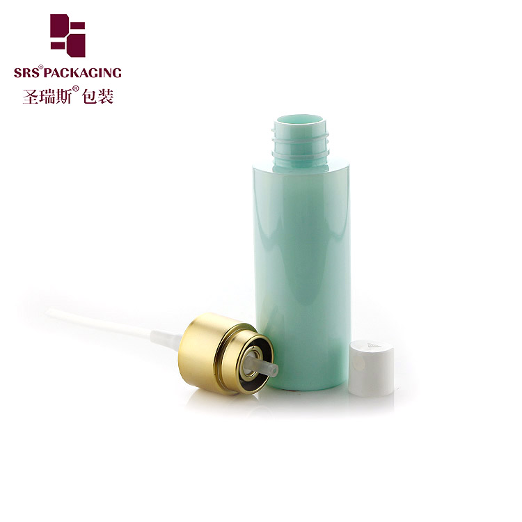 Fast delivery small portable PET plastic spray bottle 50ml recycled empty cosmetic atomizer