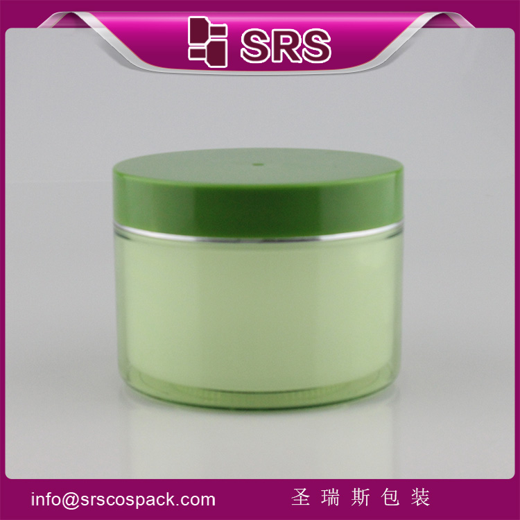 J026 High Capacity Cosmetic Container empty 500ml Plastic Jar