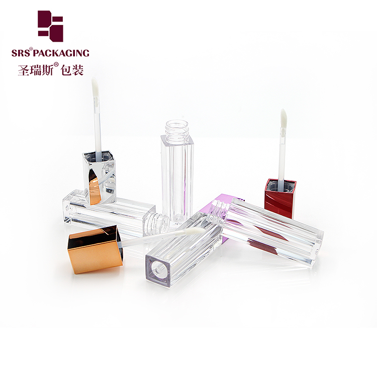 Ready to ship 4ml lip gloss tube low moq 20pcs in stock for wholesales