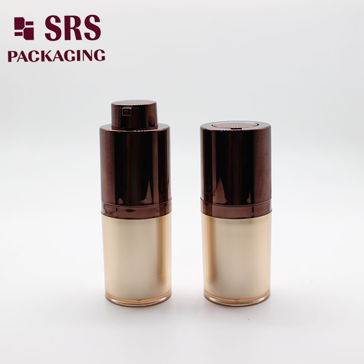 A020 SRS Empty Cosmetic Acrylic Airless Pump Bottle for Skin Care