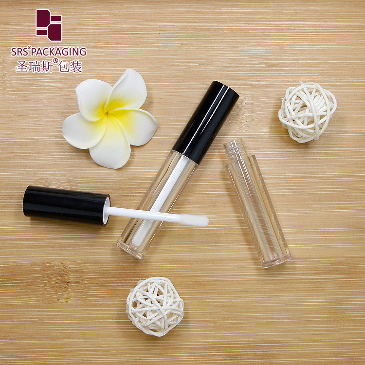 SRS Private label 2ml small capacity lip gloss tube packaging