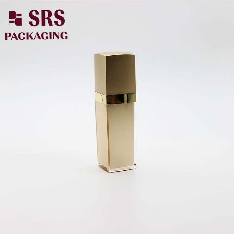 L050 Square Skin Care Cosmetic Container 50ml 100ml Acrylic Lotion Bottle