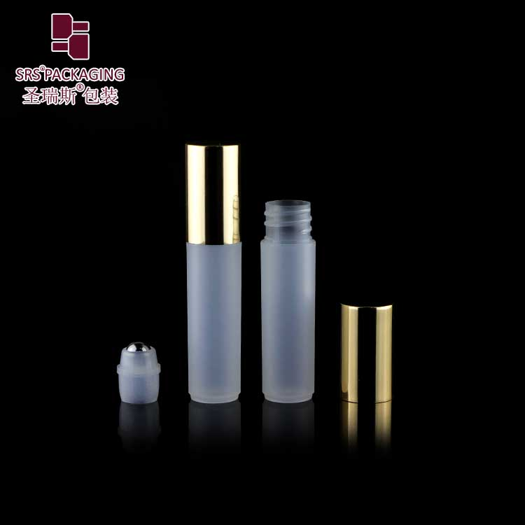 Transparent Empty Plastic Roll on Bottle 5ml Free Sample Cosmetic Packaging