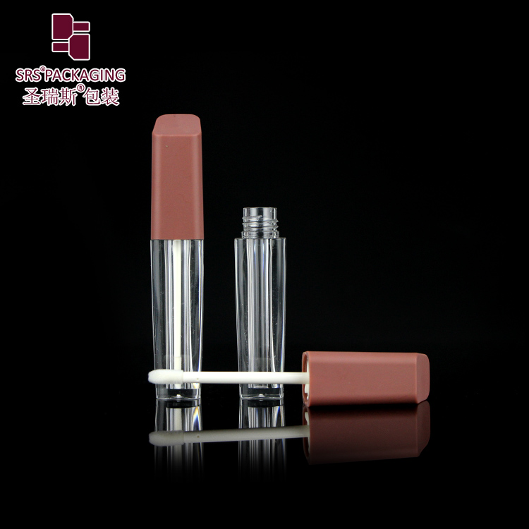 in stock empty lip gloss tubes wholesale plastic make up cosmetic packaging