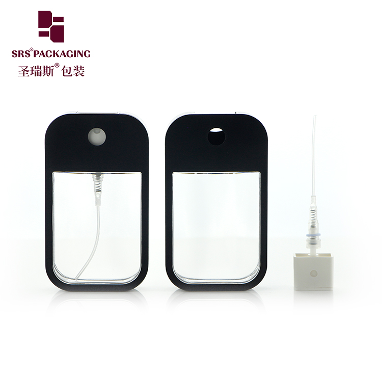 Ready to ship hand sanitizer plastic credit card shape factory manufacture sprayer plastic bottle
