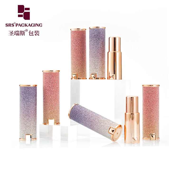 starry sky color stock quantity cosmetic empty lip stick packaging